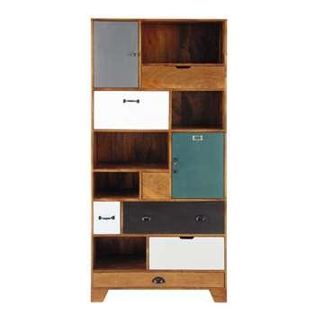 PICADILLY Solid mango wood bookcase (190 x 90cm)