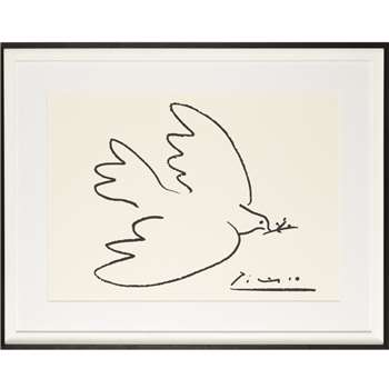 Picasso 'Dove of Peace' Framed Print, 74 x 94cm