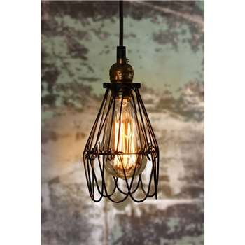 Pierre Vintage Pendant Light (20 x 17cm)