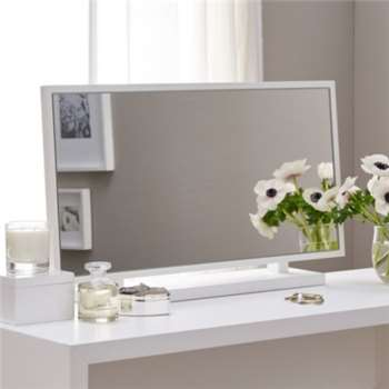 Pimlico Dressing Table Mirror (H46 x W80 x D15cm)