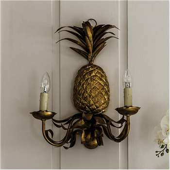 Pineapple Wall Sconce (46 x 36cm)