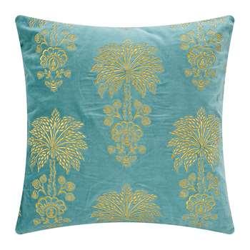 Pip Studio - Palmtree Cushion - Green (H50 x W50cm)