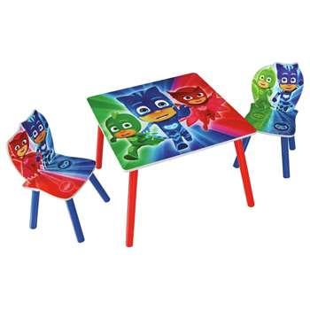 PJ Masks Table & Chair Set - Blue
