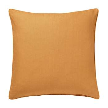 Plain Linen Cushion Cover, Large - Cinnamon (51 x 51cm)