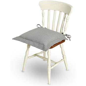 Plain Seat Pad, Grey (48 x 48cm)