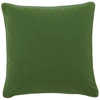 Plain Velvet Cushion Cover, Large - Putting Green (51 x 51cm)