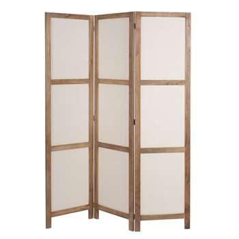 PLAISANCE Paulownia Folding Screen (H165 x W125 x D1.8cm)