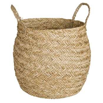 Plant Fibre Basket (33 x 30cm)