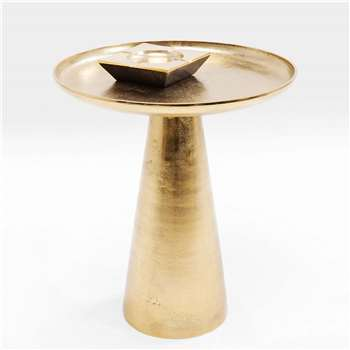 Plateau Brass Side Table (H50 x W45 x D45cm)
