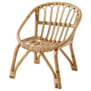 PLUME Child's rattan chair