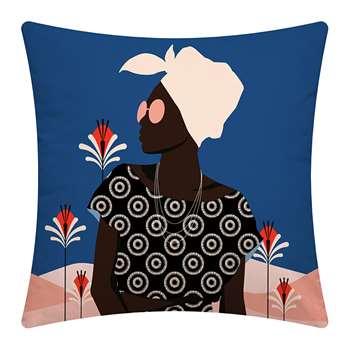PODEVACHE - Desert Woman Outdoor Cushion (H45 x W45cm)