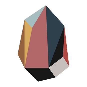 PODEVACHE - Gems Vinyl Floor Mat - Diamond (H99 x W66cm)