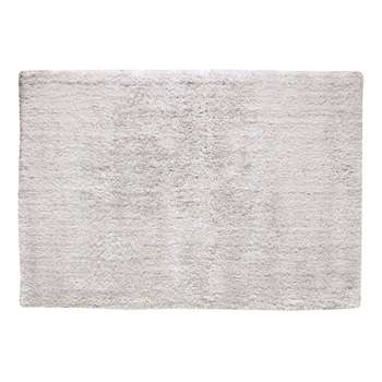 POLAIRE long pile rug in ecru (160 x 230cm)