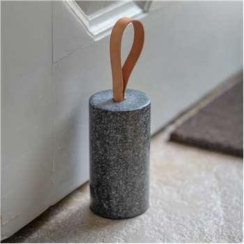 Polished Granite Doorstop (H15 x W8 x D8cm)