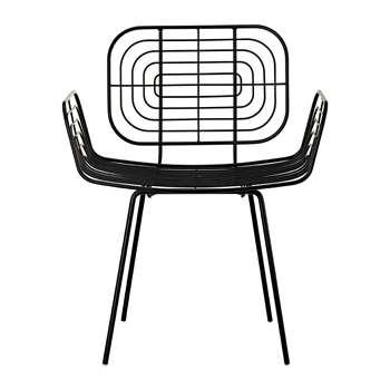 Pols Potten - Boston Chair - Black (H83 x W66 x D50cm)