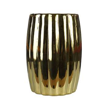Pols Potten - Curvy Ceramic Stool (H46 x W34 x D34cm)