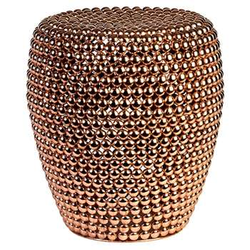 Pols Potten - Dot Stool - Copper (H46 x W40 x D40cm)