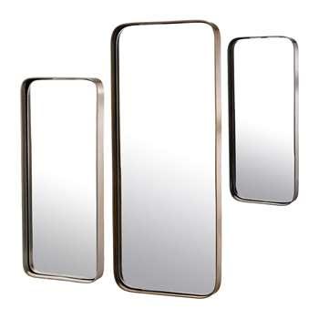 Pols Potten - Edge Mirrors - Set of 3 - Rectangular