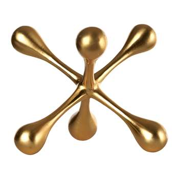 Pols Potten - Fantasia Ornament - Gold (15 x 15cm)
