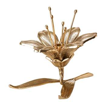 Pols Potten - Flower Candle Holder - Lily (H15 x W20 x D13cm)