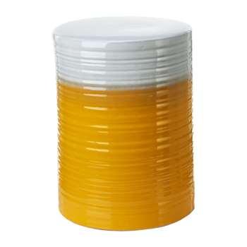 Pols Potten - Gradient Stool - Orange (H45 x W33 x D33cm)