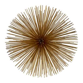 Pols Potten - Prickle Decorative Ornament - Brass - Extra Large (45 x 45cm)