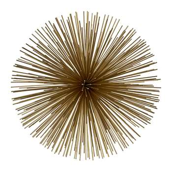 Pols Potten - Prickle Decorative Ornament - Brass - Large (26 x 26cm)