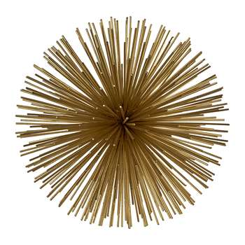 Pols Potten - Prickle Decorative Ornament - Brass - Small (18 x 18cm)