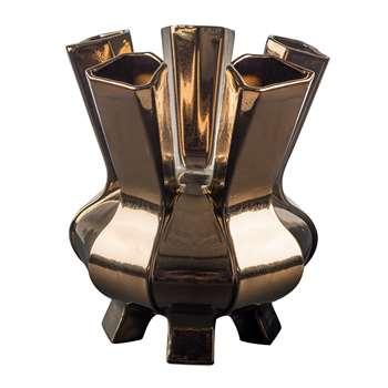 Pols Potten - Puyi Vase - Bronze (H34 x W28.5 x D28.5cm)