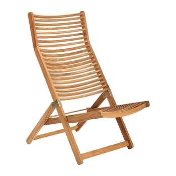 Pols Potten - Rdam Relax Chair - Teak (113 x 95cm)