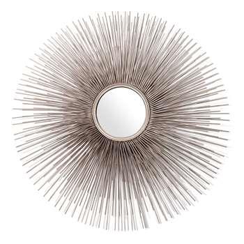 Pols Potten - Round Prickle Mirror - Nickel (81.3 x 81.3cm)