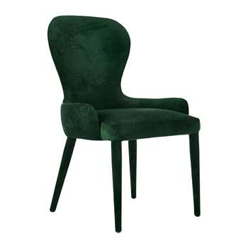 Pols Potten - Velvet Aunty Chair - Green (H85.5 x W62 x D52cm)