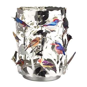 Pols Potten - Waxine Birds Spinning Votive - Large (H16.5 x W11 x D11cm)