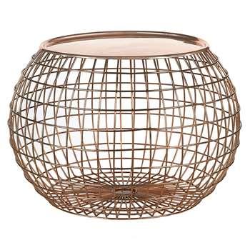 Pols Potten - Wire Ball Table Tray - Copper (32 x 50cm)