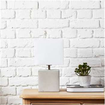 Polycotton Square Lampshade - Small (H18 x W20 x D20cm)