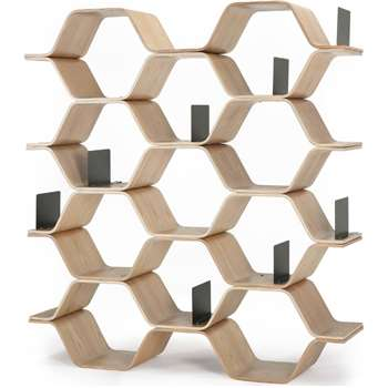 Polygon Shelving Unit, Ash (150 x 140cm)