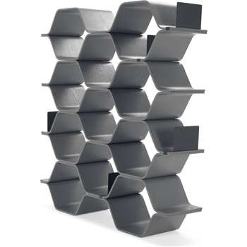Polygon Shelving Unit, Grey (150 x 140cm)