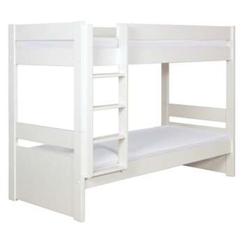 Pongo Kids' white EU single detachable bunk bed 90cm
