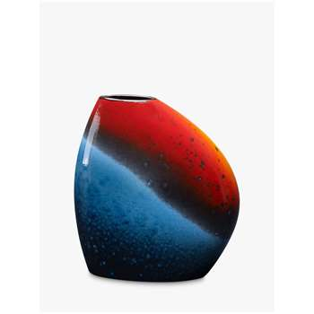 Poole Pottery Flare Asymmetrical Bean Vase (H19 x W17 x D10cm)