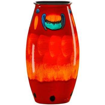 Poole Pottery Volcano Manhattan Vase, H26cm