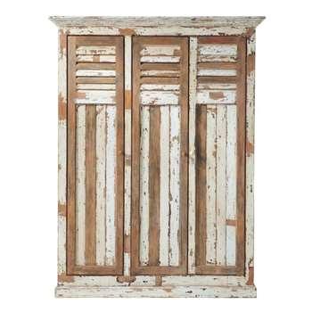 PORQUEROLLES Mango Wood Closet (H210 x W160 x D55cm)