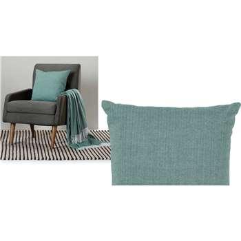 Porter Cushion, Teal (45 x 45cm)