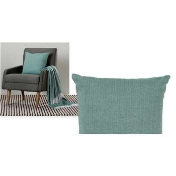 Porter Cushion, Teal (H45 x W45cm)