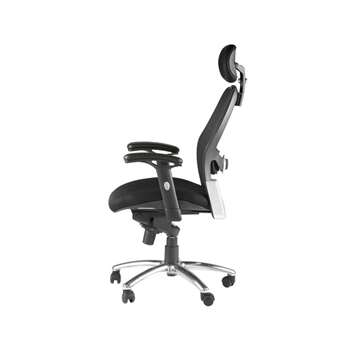 Portland Ultimate Executive Chair Sunchro Mesh Back, Black