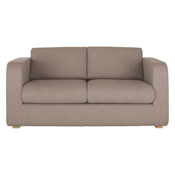 Porto Natural Fabric 2 Seater Sofa Bed - 82 x 172cm