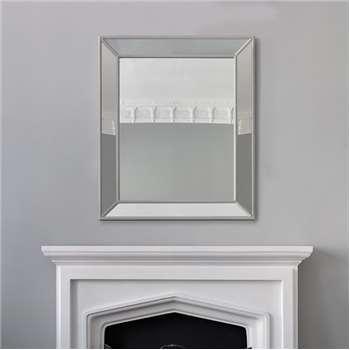 Portobello Mirror - Grey Large (H120.5 x W100 x D6cm)