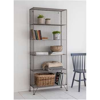 Portobello Shelving Unit, Large - Mesh (190 x 80cm)