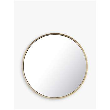 Pottery Barn Kids Small Round Mirror (H76 x W76 x D1.2cm)