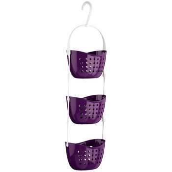 Premier Housewares 3 Tier Purple Shower Caddy (83 x 23cm)