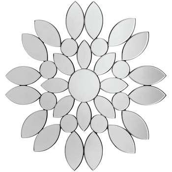 Premier Housewares Blossom Wall Mirror (Diameter 80cm)